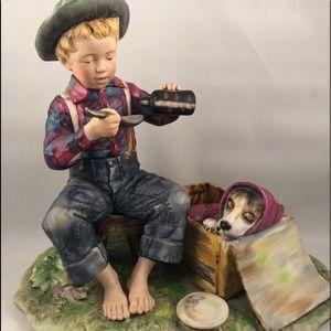 GORHAM - Norman Rockwell Summer Figurine